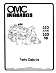 OMC Inboard Parts Catalog 980665 - Ken Cook Co.