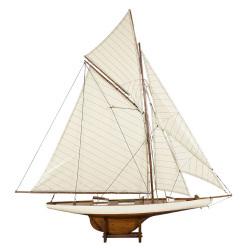 America's Cup Ship Model 'Columbia' 1901 J-Yacht, Medium - Authentic Models