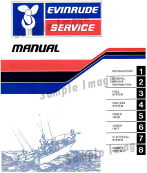 1979 Evinrude and Johnson Commercial Outboard Owner's Manual 208346 - Ken Cook Co.