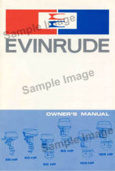 1978 Evinrude and Johnson Commercial Outboard Owner's Manual 389028 - Ken Cook Co.