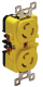 15 Amp Locking Duplex Receptacle (Marinco/Guest/Afi/Nicro/Bep)
