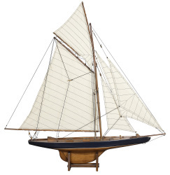 America's Cup Ship Model 'Columbia' 1901 J-Yacht, Small - Authentic Models