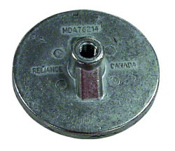 Aluminum Anti-Ventilation Plate Anode - Sierra