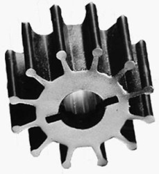"Replacement Impeller Kit, Nitrile 1-9/16"" Diameter 6-Blade - ITT Jabsco"