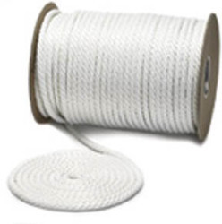 "Solid Braid Nylon Boat Rope, SB, 3/8""x250', White - Unicord"