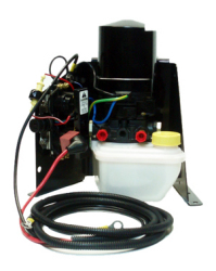 PT510N 12V 3-Wire Power Tilt & Trim Motor/Reservoir/Pump with Mounting Bracket & Wire Harness for Mercruiser - API Marine