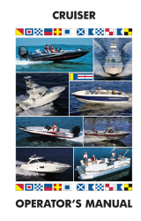 Cruisers - Boat Owner's Manual - Ken Cook Co.