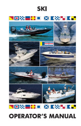 Inboard Ski Boats - Boat Owner's Manual - Ken Cook Co.
