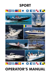 Sport Boat & Deckboats - Boat Owner's Manual - Ken Cook Co.