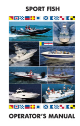 Sport Fishing Boats - Boat Operator's Manual - Ken Cook Co.