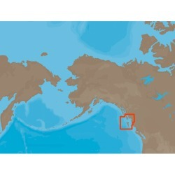 NT+ NA-C705 FP Card Banks Island, British Columbia to Sumner Strait, Alaska Electronic Charts - C-Map