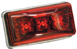 Wesbar Led Mini Marker / Clearance Lamp-Red Lamp - Wesbar