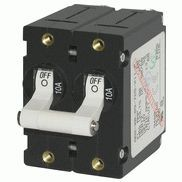 Circuit Breaker AA2 Double Pole 50A, Black - Blue Sea Systems