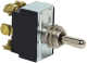 Heavy Duty Double Pole Toggle Switches, 6 Screw Term. Momentary On-Off-Momentary On - Cole Hersee