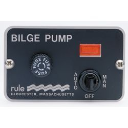 Panel Lighted 3-Way Marine Switch, 24/32 Volt - Rule