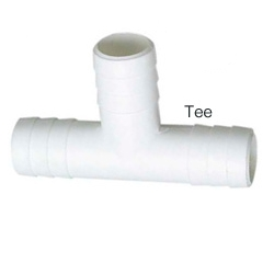 "Tee, 3/4"" ID Hose, White - Seachoice"