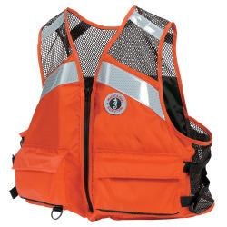 Mustang Industrial Mesh Vest: XXXL - Mustang Survival