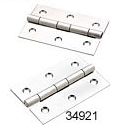 "Extruded Butt Hinge, 2"" x 3"", Stainless Steel - Seachoice"