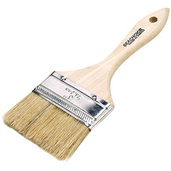 """Throw-A-Way Paint Brush, Double Wide Chip, 4"""" (10.16cm) - Seachoice"""