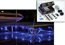 Dock Lighting Kit, Blue LED - Innovative Lighting