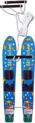 Kids Wood Trainer Skis w/Rope - Nash Sports