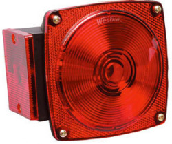 7-Function, Left/Roadside Tail Light Only - Wesbar