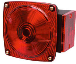6-Function, Right/Curbside Tail Light Only - Wesbar