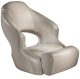 Aergo 240 Boat Bucket Seat with Bolster, Tan & Tan - Attwood