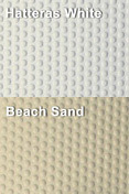 Coaming Bolster Pad Set (2), Hatteras White/Beach Sand - SeaDek