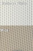 Coaming Bolster Pad Set (2), Hatteras White/Mica - SeaDek