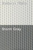 Coaming Bolster Pad Set (2), Hatteras White/Storm Gray - SeaDek
