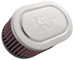 "Kawasaki K&N 3"" Single Carb Filter Air Filter - K&N Performance"