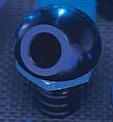 45 deg Alloy Black Bilge Fitting - PWC Parts