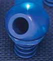 45 deg Alloy Blue Bilge Fitting - PWC Parts