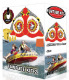 2-Person Airhead FunTube Kit: Turbo-Blast Boat Tube, 50' Tow Rope, Ski Flag & 12v Air Pump
