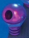45 deg Alloy Purple Bilge Fitting - PWC Parts