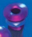 Alloy Purple Straight Bilge Fitting - PWC Parts