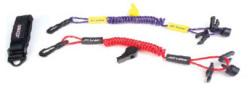Ultimate PWC Safety Lanyard Purple/Yellow - PWC Parts