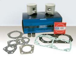 Top End Kit Yamaha 650 (6M6) All 0.25MM - WSM