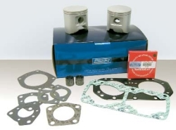 Top End Kit Kawasaki 650 All 91-96 0.75MM - WSM