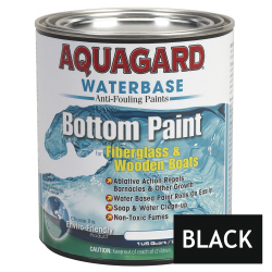 Aquagard Waterbased Anti-Fouling Bottom Paint - Quart - Black