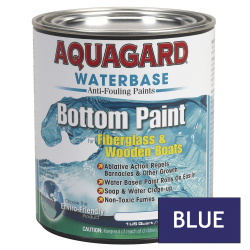 Aquagard Waterbased Anti-Fouling Bottom Paint - Quart - Blue