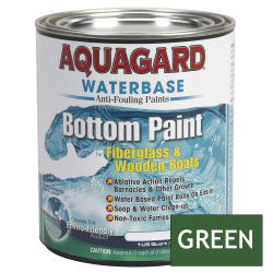 Aquagard Waterbased Anti-Fouling Bottom Paint - Quart - Green