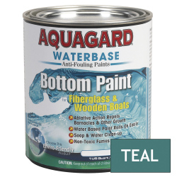 Aquagard Waterbased Anti-Fouling Bottom Paint - Quart - Teal