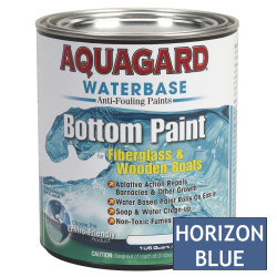 Aquagard Waterbased Anti-Fouling Bottom Paint - Quart - Horizon Blue