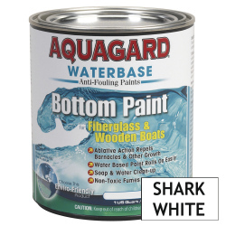 Aquagard Waterbased Anti-Fouling Bottom Paint - Quart - Shark White
