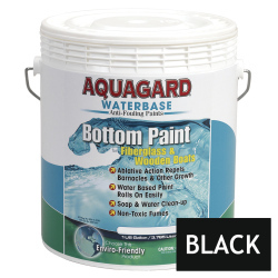 Aquagard Waterbased Anti-Fouling Bottom Paint - Gallon - Black