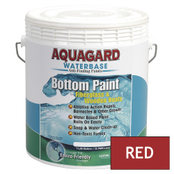 Aquagard Waterbased Anti-Fouling Bottom Paint - Gallon - Red