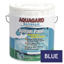 Aquagard Waterbased Anti-Fouling Bottom Paint - Gallon - Blue
