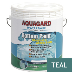 Aquagard Waterbased Anti-Fouling Bottom Paint - Gallon - Teal